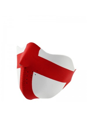 St George England Flag Bike Face Mask