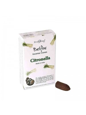 Wholesale Stamford Backflow Incense Cones - Citronella