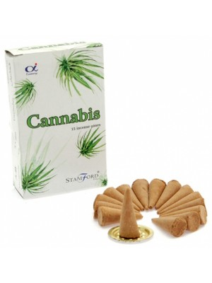 Stamford Incense Cones - Cannabis