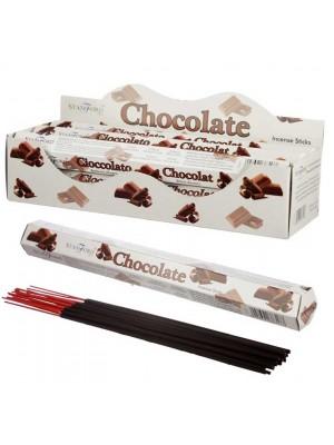 Wholesale Stamford Hex Incense Sticks - Chocolate