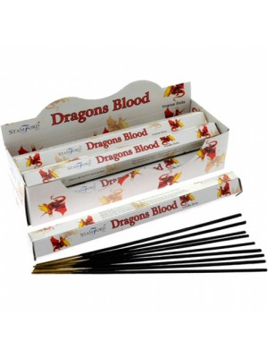 Stamford Hex Incense Sticks - Dragons Blood