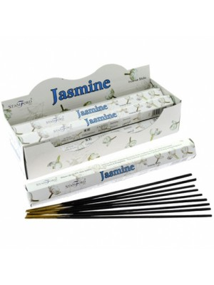 Stamford Hex Incense Sticks - Jasmine