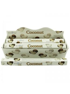 Stamford Hex Incense Sticks - Coconut