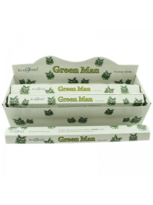 Stamford Hex Incense Sticks - Green Man