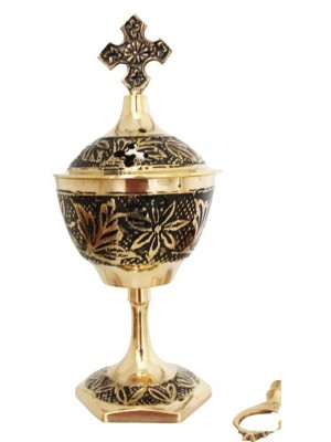 Wholesale Brass Burner With Cross 6.5 inch