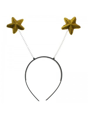 Star Shaped Deely Boppers - Gold