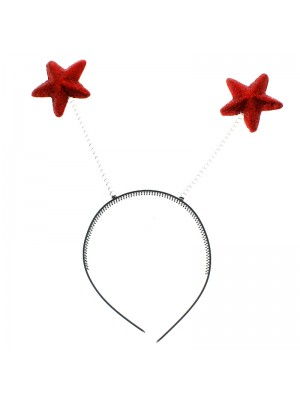 Star Shaped Deely Boppers - Red
