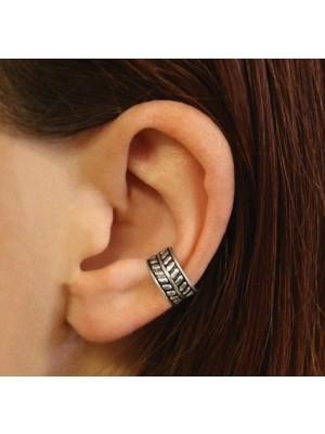 Wholesale Sterling Silver Twine Design Ear Cuff