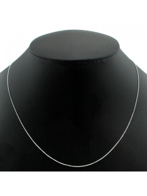 Sterling Silver Chain Necklace - 18