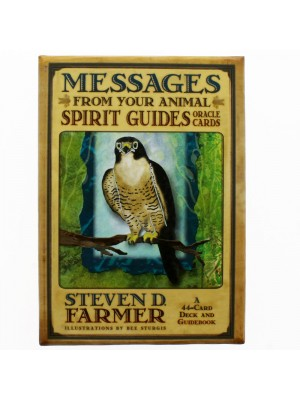Steven Farmer Messages From Your Animal Spirit Guides Oracle Cards