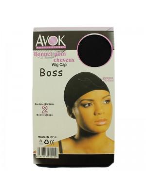 Stocking Wig Cap - Black