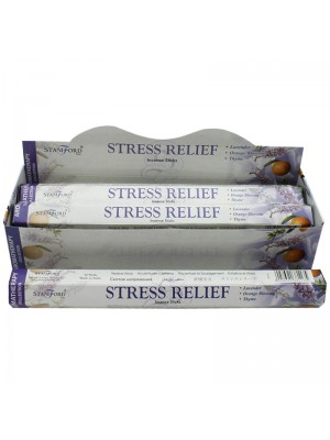 Stamford Hex Incense Sticks - Stress Relief