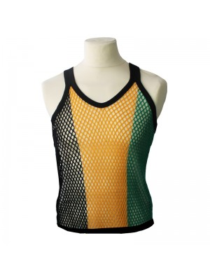 023b09d7fb6fa5 String Vest - Jamaica Colours (Assorted Colours)