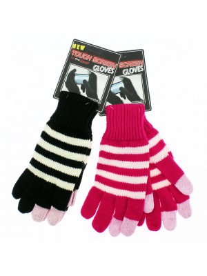 Unisex Touch Screen Gloves (Assorted Colours)