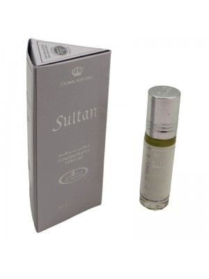 Al-Rehab Concentrated Alcohol Free Perfume- Sultan (6 ml)