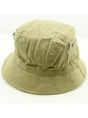 Summer Hat With Two Zip Pocket Assorted
