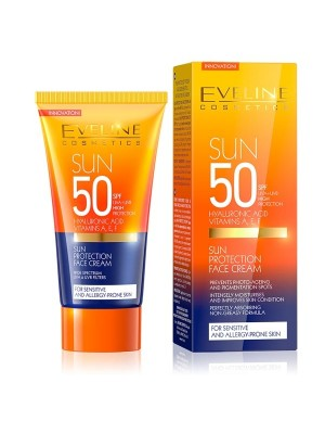 Eveline Cosmetics Sun Protection Face Cream SPF 50-50ml