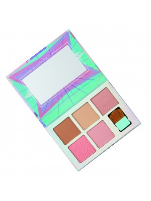 Sunkissed Carnival Crush Cheek Palette - Assorted Colours