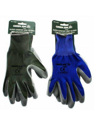 Wholesale Super Comfort Grip Gloves - Assorted Colours (Large)