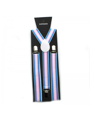 Suspender Braces LGBTQ Transgender Print 35mm