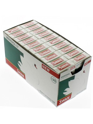 Wholesale Swan Menthol Extra Slim Filter Tips
