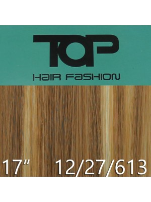 "'Top Hair Fashion' Synthetic Clip-in Hair Extensions 17"" - 12 / 27/ 613 (BRH)"