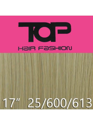 "'Top Hair Fashion' Synthetic Clip-in Hair Extensions 17"" - 25/ 600/ 613 (BD)"