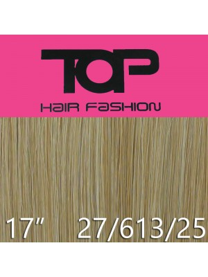 "'Top Hair Fashion' Synthetic Clip-in Hair Extensions 17"" - 27 / 613/ 25 (BRT)"