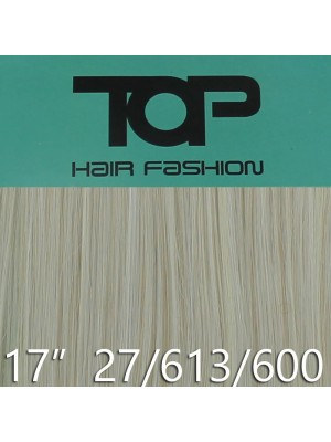 "'Top Hair Fashion' Synthetic Clip-in Hair Extensions 17""  - 27/ 613/ 600T (BDL)"