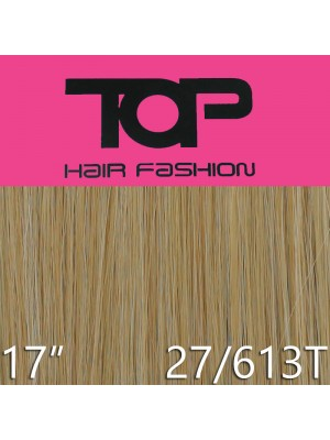 "'Top Hair Fashion' Synthetic Clip-in Hair Extensions 17"" - 27/613 (BR)"