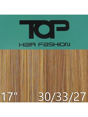 "'Top Hair Fashion' Synthetic Clip-in Hair Extensions 17"" - 30/33/27 (BRB)"