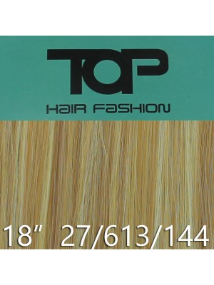 "'Top Hair Fashion' Synthetic Clip-in Hair Extensions 18"" - 27/ 613/ 144 (BRG)"