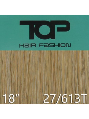 "'Top Hair Fashion' Synthetic Clip-in Hair Extensions 18"" - 27/ 613T (BR)"