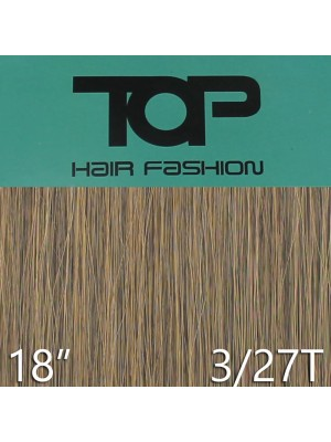 "'Top Hair Fashion' Synthetic Clip-in Hair Extensions 18"" - 3/ 27T (BRE)"