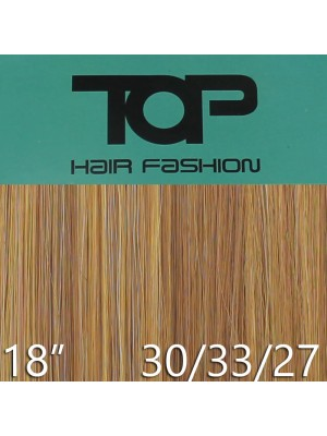 "'Top Hair Fashion' Synthetic Clip-in Hair Extensions 18"" - 30/ 33/ 27 (BRB)"