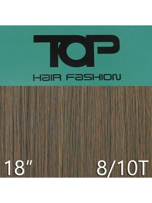 "'Top Hair Fashion' Synthetic Clip-in Hair Extensions 18"" - 8/ 10T (BRD)"