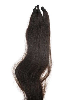 Synthetic Hair Extensions - Brown