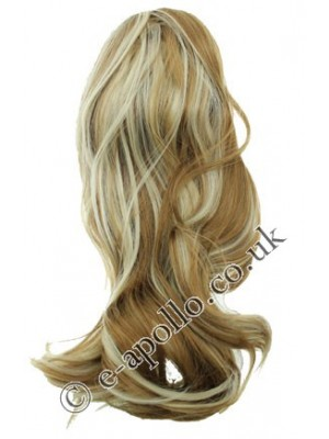Synthetic Hair Extensions With Clamp - Two Tone