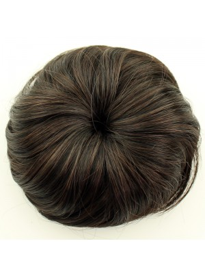 Synthetic Hair Buns - Assorted Colours