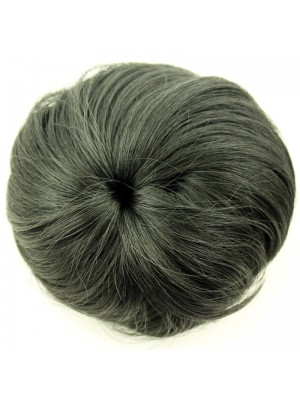 Synthetic Hair Buns - Black