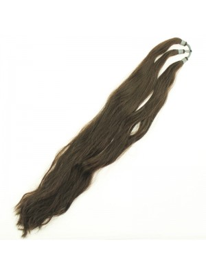 Synthetic Hair Extensions - Brown (30 Inches)