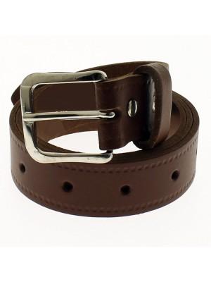"Men's Leather Belts 1.25"" Wide - Tan (XX Large)"