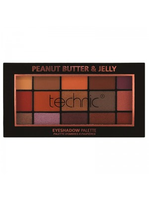 Wholesale Technic 15 Colours Eyeshadow Palette - Peanut Butter & Jelly