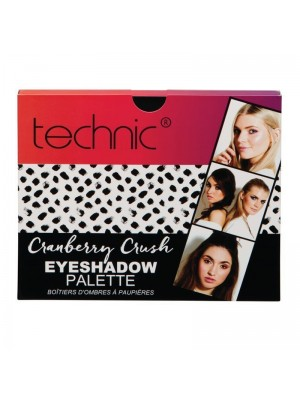 Wholesale Technic Cranberry Crush Eyeshadow Palette