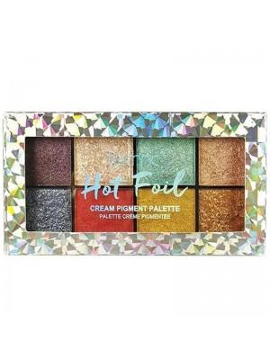 Wholesale Technic Cream Pigment Eyeshadow Palette - Hot Foil