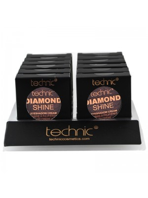 Wholesale Technic Diamond Shine Eyeshadow Cream - Ruby