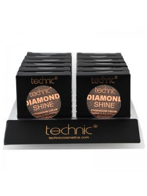 Wholesale Technic Diamond Shine Eyeshadow Cream - Golden Topaz