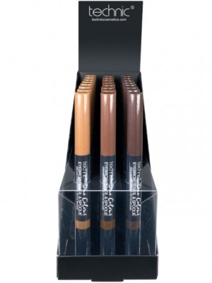 Wholesale Technic Duo Colour Eyebrow Pencil & Spoolie