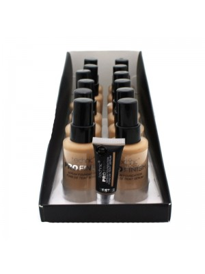 Technic Pro Finish Serum Foundation 3.0N Beige - 12PCS