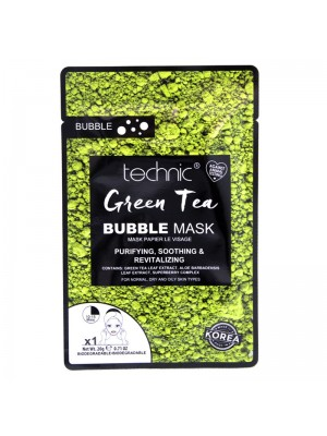 Wholesale Technic Green Tea Bubble Sheet Mask